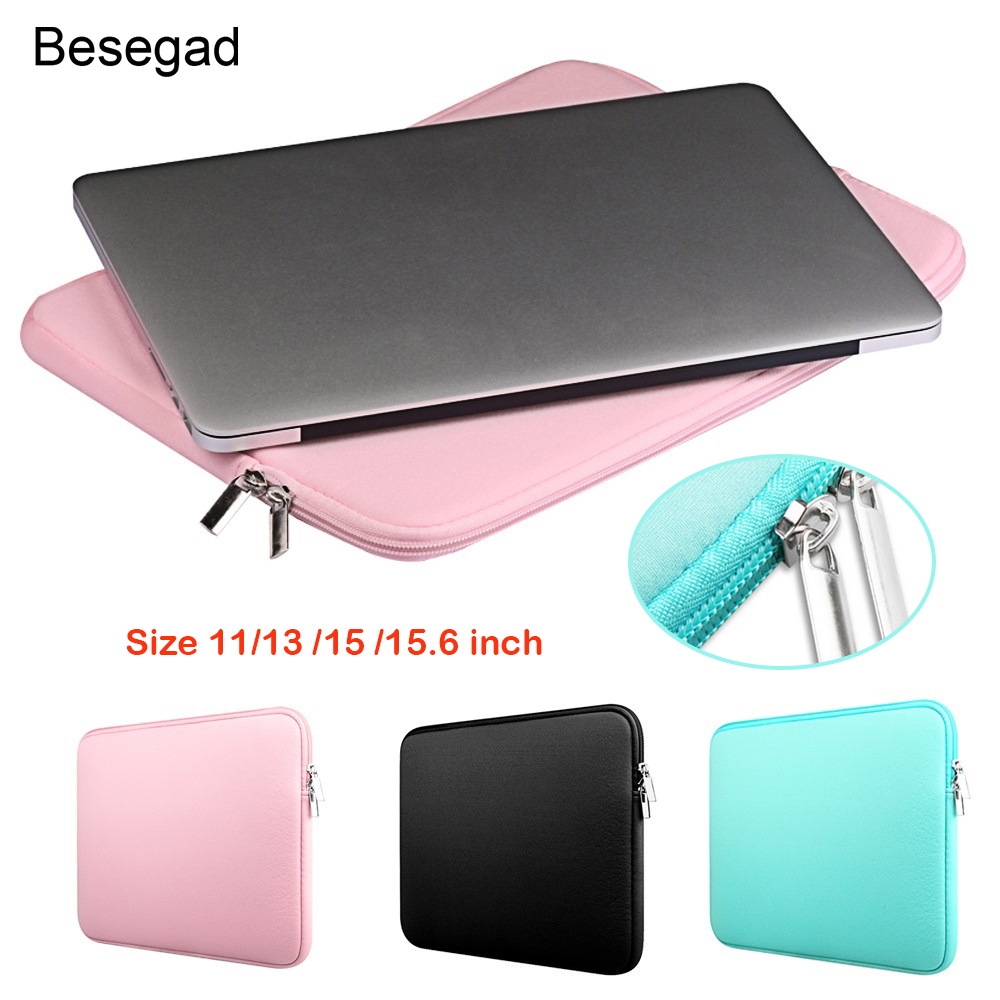 Zipper Sleeve Bag Case Cover for 11/'/'13/'/'15.6/' Macbook Pro Air Notebook Laptop