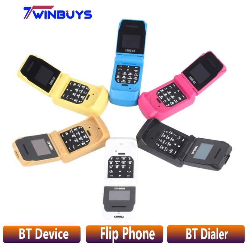 "LONG CZ J9 mini Flip mobile phone 0.66"" Smallest Cell"