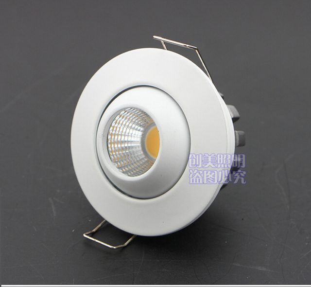10pcs led panel dimmable recessed led downlight cob 6w 10w round 10pcs led panel dimmable recessed led downlight cob 6w 10w roundsquare dimming led spot aloadofball Choice Image