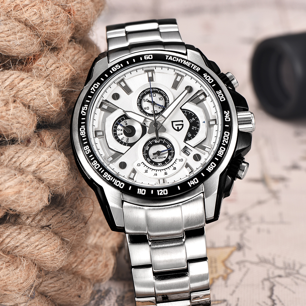 Luxury Brand Men Watches Top Chronograph Quartz Watch PAGANI DEAIGN Men Sport Wristwatch Military Watch Relogio