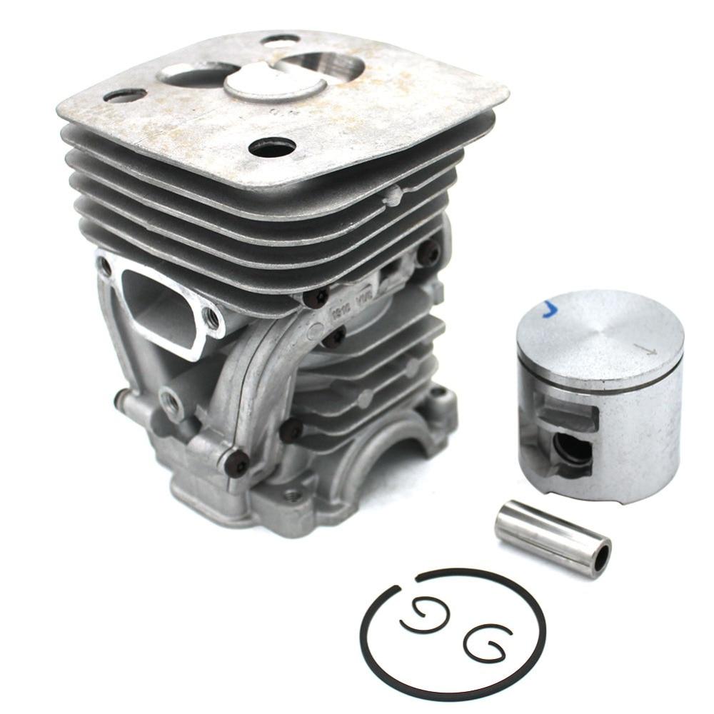 Tools : 47mm Cylinder Piston Kit For Husvarna 455 455 Rancher 455E 460 460 Rancher Jonsered CS2255 Chainsaw PN 537320402 537320501