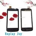 Para Explay Alegria do telefone móvel acessórios do telefone móvel de tela de toque de vidro da tela de toque repair preto enviados 100% teste