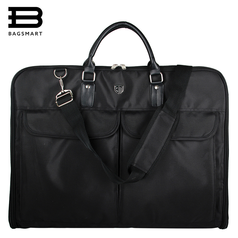 BAGSMART Garment Bag Men Suit Bag Nylon Bag DustProof Waterproof Dress Suit Carrier Tote Travel Bags цены