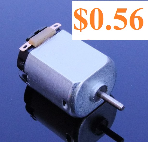 Micro 130 DC Motor For DIY Four-wheel Motor Scientific Experiments Free Shipping Russia