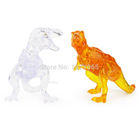 DIY 3D Crystal Dinosaur Educational Toys 3D Puzzle High Quality Kids Adult Dragon Toys For Children