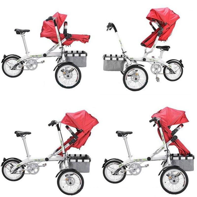 Για το Ta Ga Baby Mother Bike καροτσάκι - Παιδική δραστηριότητα και εξοπλισμός - Φωτογραφία 6