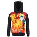 Naruto Naruto crianças manga longa primavera hoodies modelos menino e menina camisola casaco