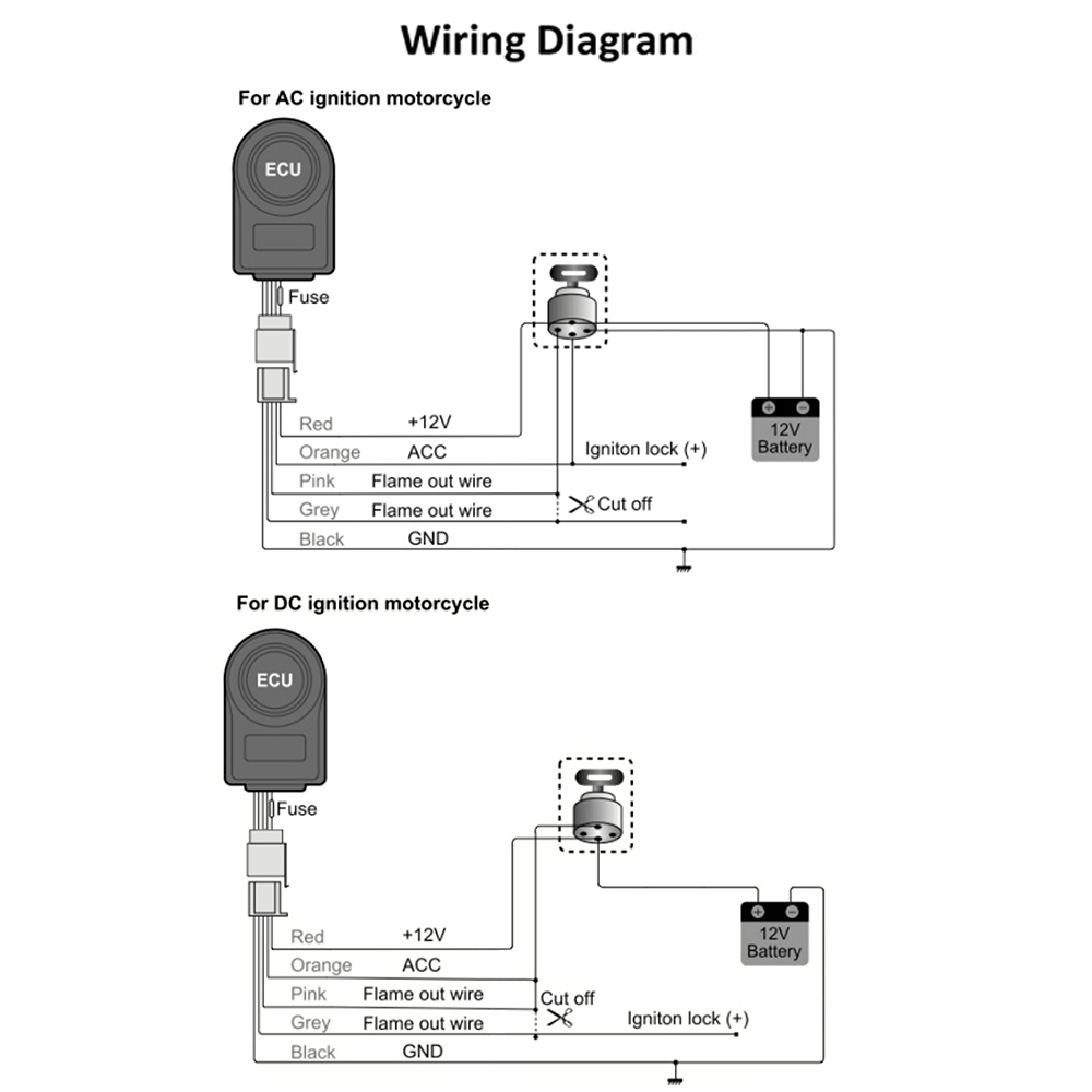 Steelmate Central Locking Wiring Diagram Free Download Car Alarm Skm21 Motorcycle System Remote Engine Start At