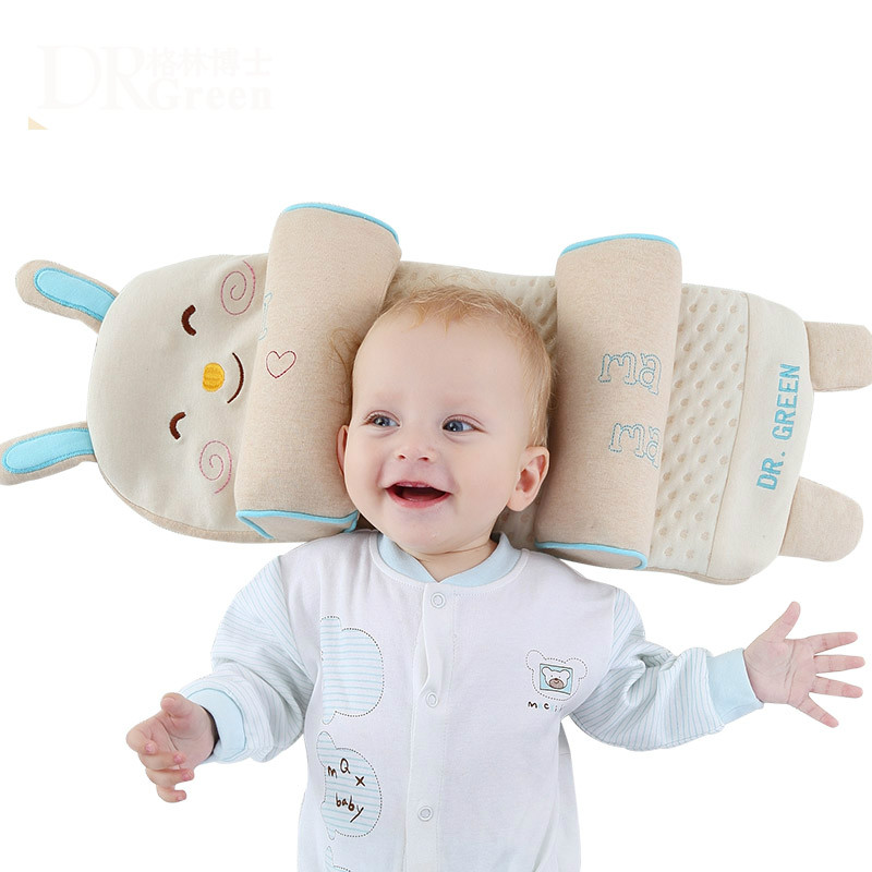 Free Shipping Soft Comfortable Multi-factional Baby Pillow Buckwheat Hull Pillow Suitable For 0-6 Years Old Baby T01
