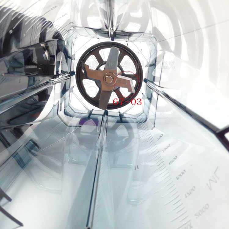 TWK-767 TM-800 767 767 800 Misturador Liquidificador Omniblend jtc Jar Recipiente Jarro Jarro De Copo tampa inferior com lâminas Parte Superior do corpo copo kit