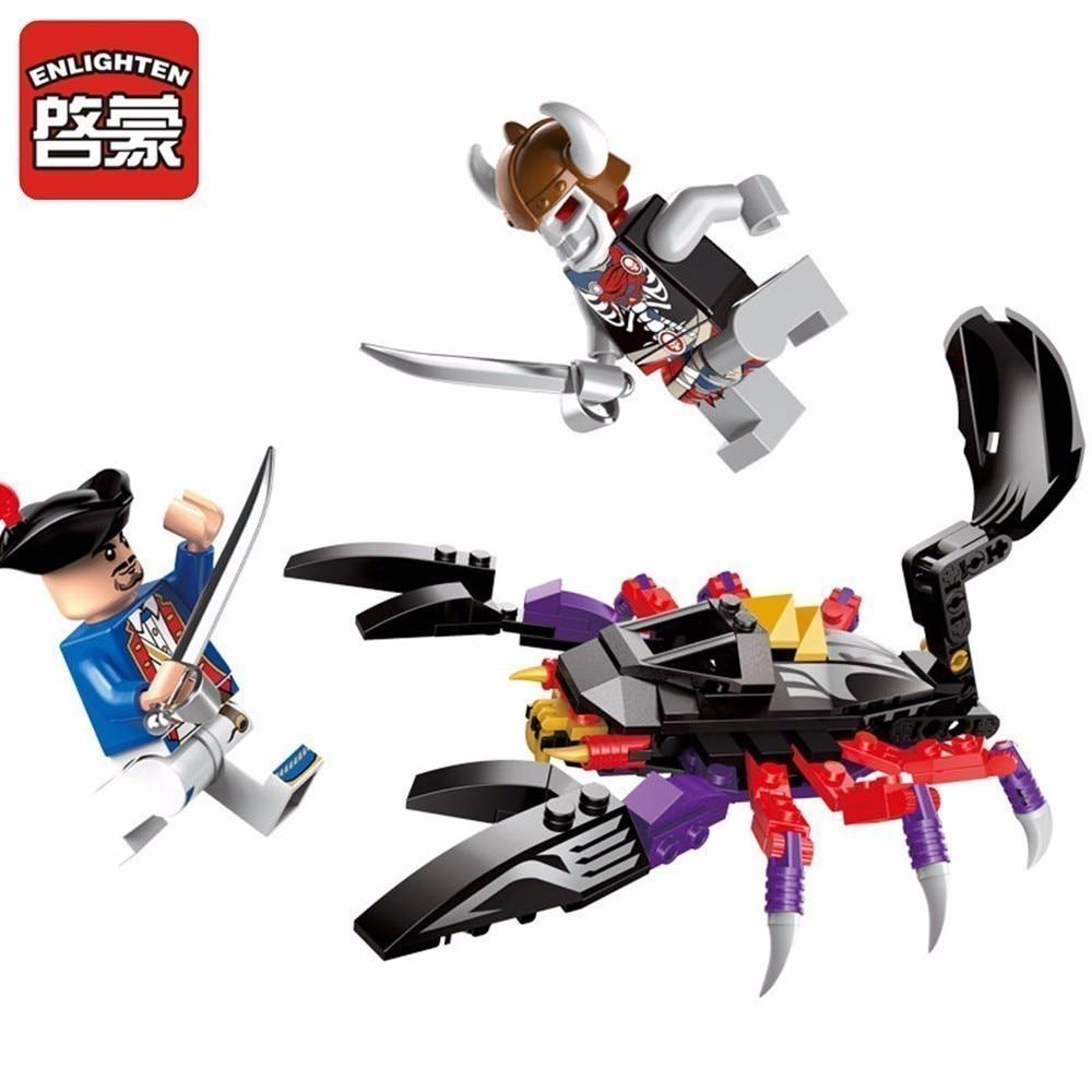 Освітите Піратський зброю Скорпіон - Конструктори та будівельні іграшки