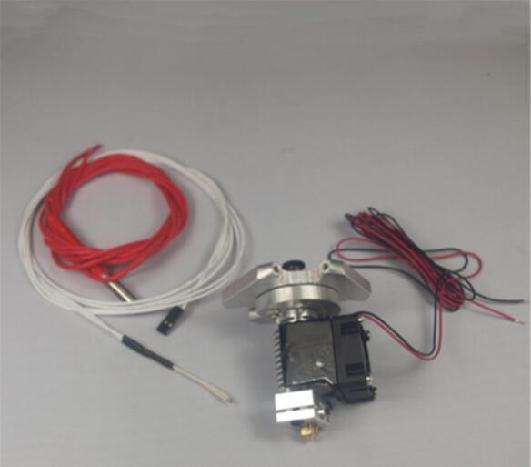 ФОТО Reprap Kossel Rostock 3D printer auminum end effector + hotend kit/set 104GT-2 thermistor 1.75/3 mm filament
