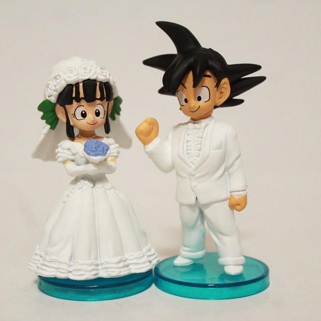 2pcs/set ChiChi & Goku Wedding Set