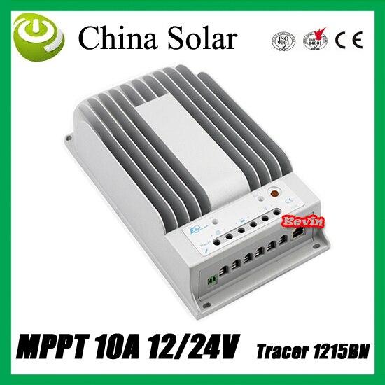 ФОТО MPPT 10A solar controller Tracer 1215BN 12V/24 Volt solar panel battery GEL controller can use for solar street LED lighting