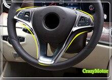 Para Mercedes-benz Vito W447 Ajuste Volante Ajuste de La Cubierta Decorativa Interior car-styling accesorios para automóviles