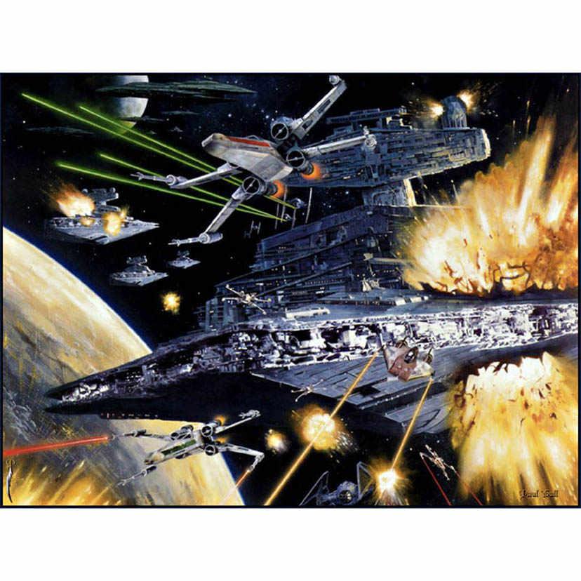 スタートレック UFO 宇宙船、 5d diy のダイヤモンド塗装クロスステッチキット写真のラインストーンモザイクホームデコレーションギフト WG596