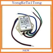 1 шт./лот EMI фильтр CW1B-06A-L 6A 115V 250V CW1B 50/60Hz