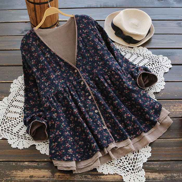 Kpop Cotton Korean 2019 Special Offer New Tumblr Unicorn Free Shipping Spring Japanese Large Size Lace Print Shirt Cardigan