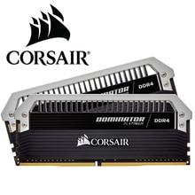 CORSAIR Dominator Platin RAM Memoria Modülü 16GB 2X8GB Çift kanallı DDR4 bellek PC4 3600 3200 3000Mhz Masaüstü DIMM C16