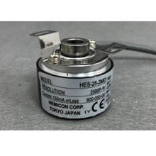 New NEMICON encoder HES-02-2MD 8mm hollow shaft 2500ppr 1024ppr 1000ppr 360ppr incremental rotary encoder free shipping calt alternative nemicon rotary encoder 10mm shaft encoder 58mm outer dia socket out line driver