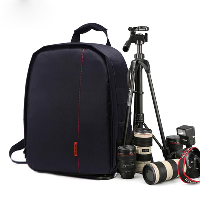 все цены на DSLR Camera Bag Photo Backpack For Nikon D7500 D5300 D3400 D850 D750 D60 D5600 P900 D90 D810 D7200 D7100 Nikon Camera Bag