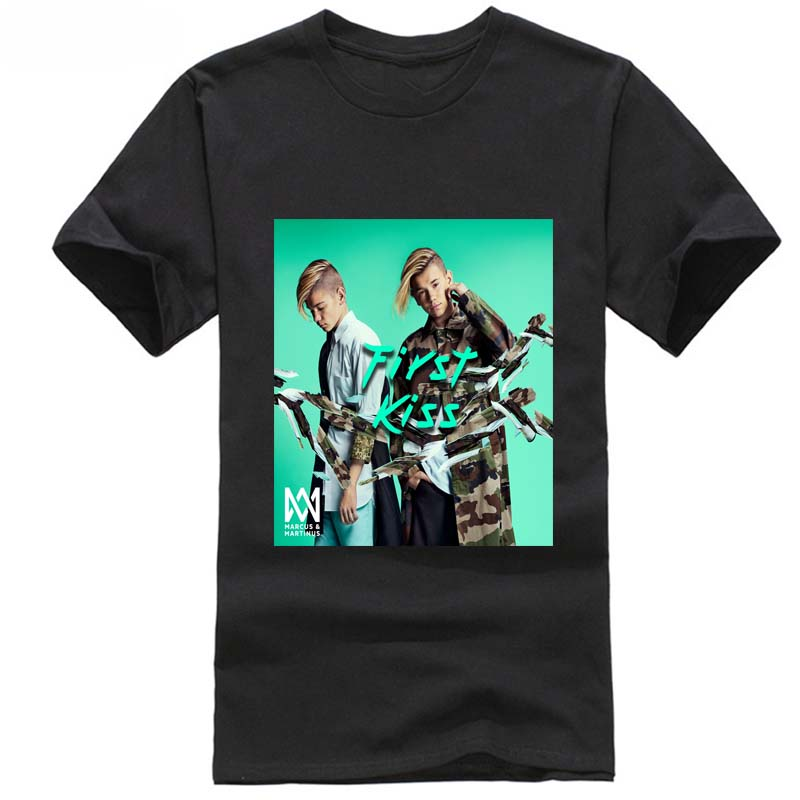 marcus and martinus tshirt song First Kiss 2019 New Arrival Men'S Fashion harajuku vaporwave lovely baby ajax feyenoord sik image