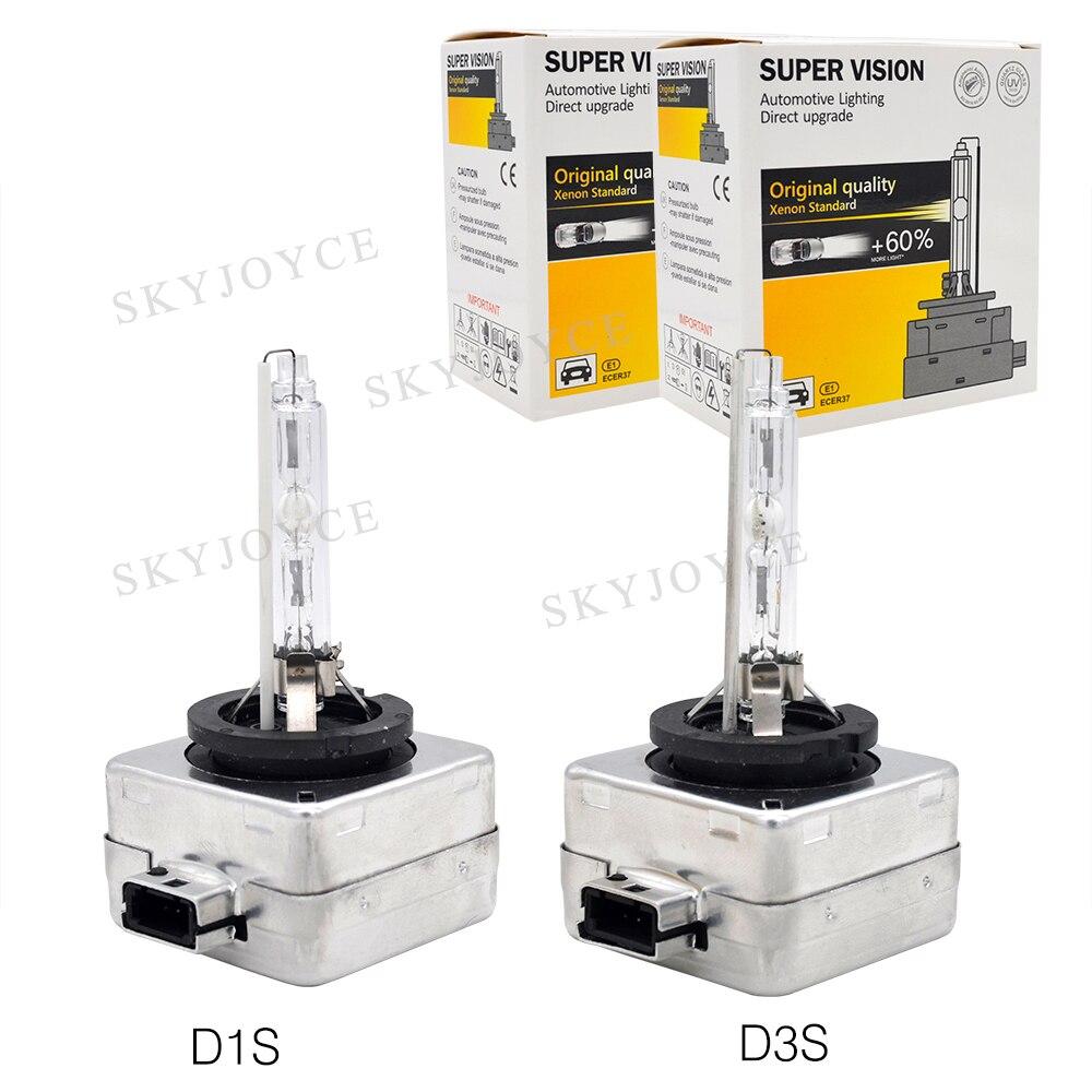 Image 5 - 55 Вт ксеноновая D1S HID лампа Xenon D1S D1R D2R D3S D4R D4S D2S фара лампа 4300K 5000K 6000K 8000K 35W 55W D1S D2S HID ксеноновая лампаЛампы для автомобильных фар (ксеноновые)    АлиЭкспресс