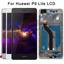 Original 5.2'' 1920x1080 IPS LCD For HUAWEI P9 Lite Display Touch Screen for HUAWEI P9 Lite LCD Display Digitizer with Frame все цены