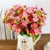 28 Heads Artificial Flower Bunch Fake Silk Daisy