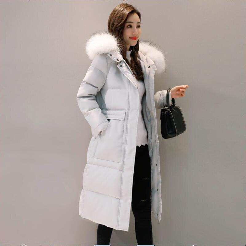 8a6074205e58b OEAID desgaste nieve pato blanco abajo abrigo mujeres 2018 invierno abajo  chaqueta mujeres abrigos largo gris gruesa damas chaquetas y abrigos negro  en ...