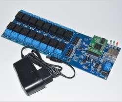 USR-R16-T промышленных WAN сеть релейных платов 16 канальный пульт дистанционного управления модуль коммутатора таймер Функция TCP IP LAN Интерфейс
