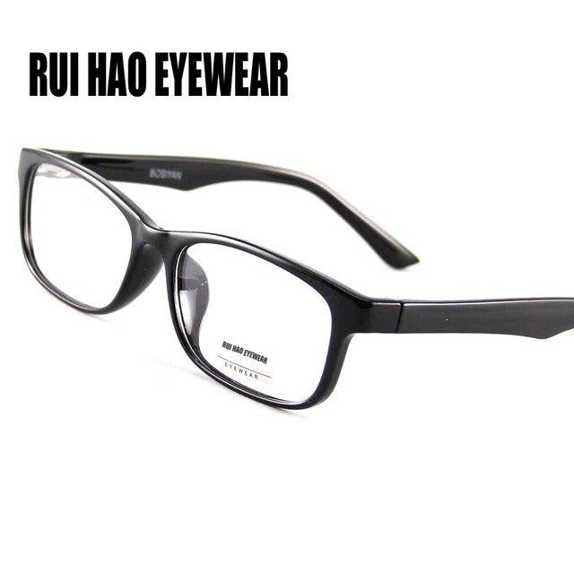 3c5df2980c78d Óculos ópticos Quadro Óculos de Moda Homens Óculos Frames Homens Óculos  Mulheres Marca Super Luz Óculos