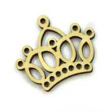 50pcs/bag wholesale high quality queen crown cutting wood Angle DIY scrapbook Wedding. Hotel decoration 30mm*35mm 1226