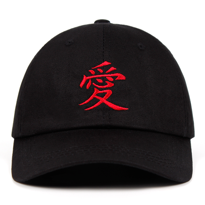 Gaara embroidery Dad Hat 100% Cotton Sabaku no Gaara Akatsuki Uchiha Naruto   Baseball     Caps   Anime Snapback