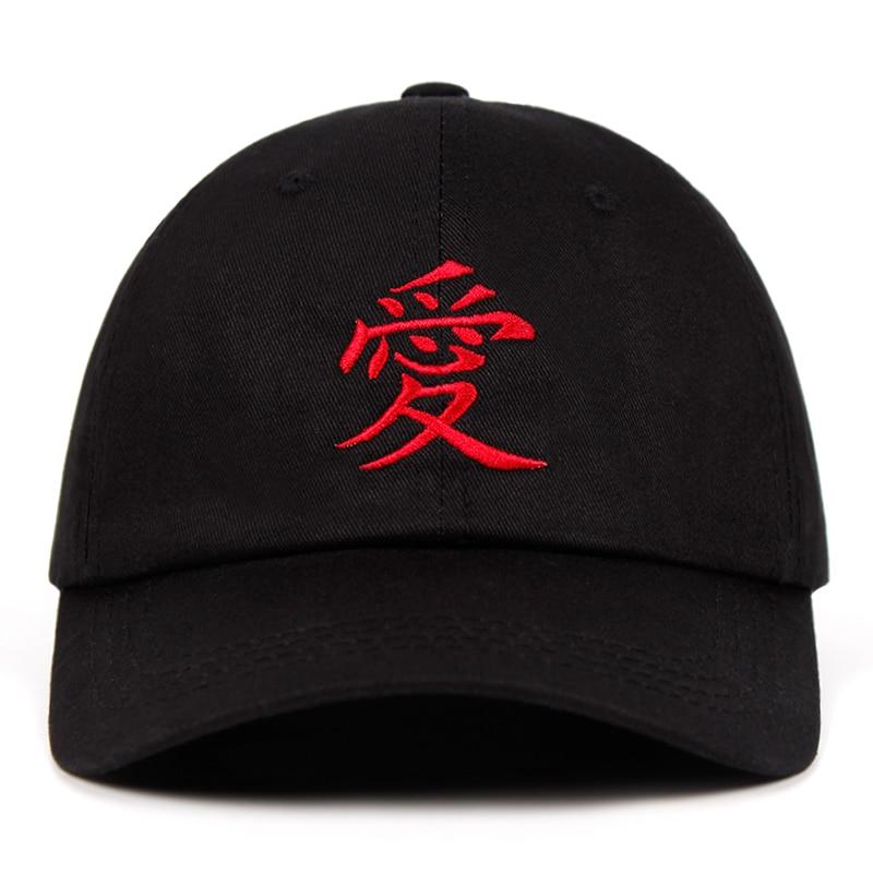 Gaara embroidery Dad Hat 100% Cotton Sabaku no Gaara Akatsuki Uchiha Naruto   Baseball     Caps   Anime Snapback