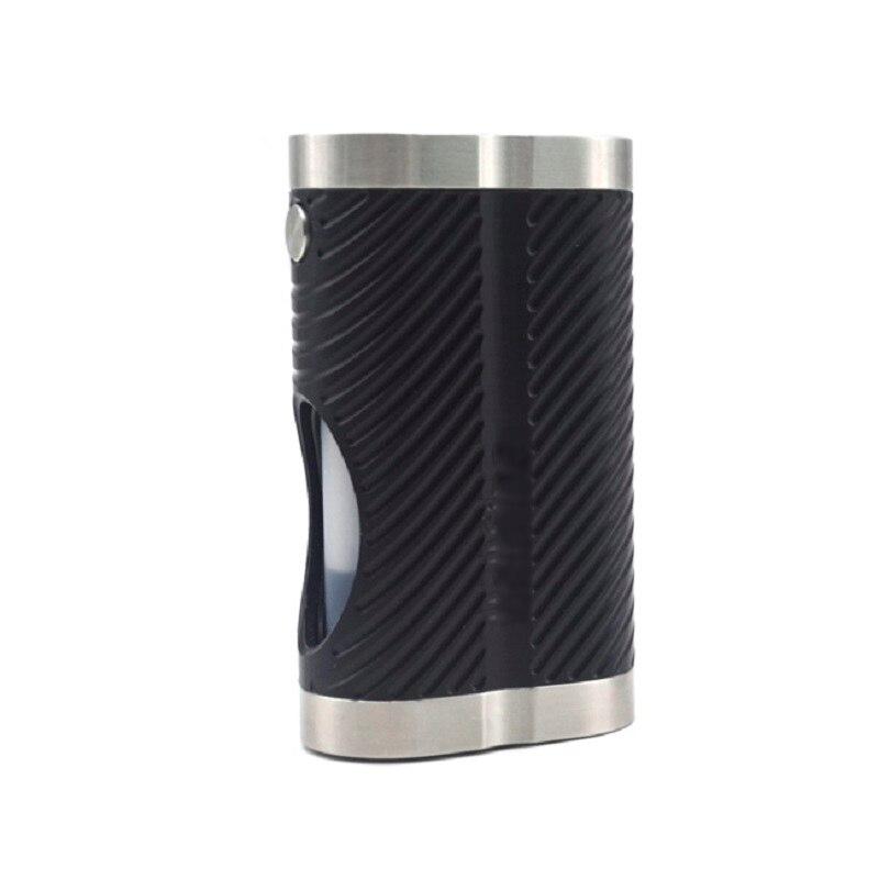 Boîte ULTON mods Style Cobra Hellfire 18650 Mod semi-squonk avec bouteille de capacité de 7 ml pour réservoir de vape RTA/atomiseur RDA
