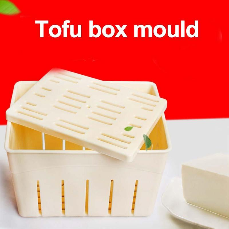 DIY Tofu Press Homemade Tofu Maker Tofu Machine Pressing <font><b>Mould</b></font> Kit <font><b>Cheese</b></font> Molds <font><b>Cheese</b></font> Cloth Kitchen Tool Tofu Molds NPP5127 image