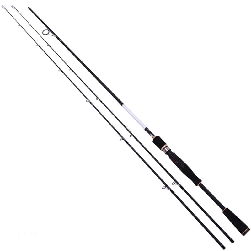 ФОТО Trulinoya double rod tip legendary lure rod 2.1 m M / ML spinning fishing rod carbon rod free shipping