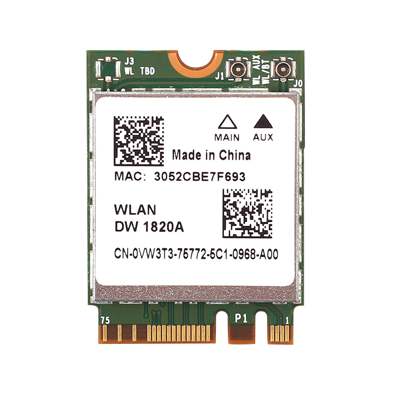 Wireless-AC Dual Band 867Mbps Bluetooth 4.1 DW1820A 802.11ac M.2 NGFF WIFI Card Broadcom BCM94350ZAE Wlan Better BCM94352