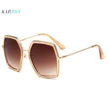 2019 New Model Fashion UV400 Women Sunglasses Big Frame Men Sun Glasses Eyeglasses