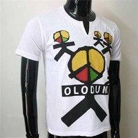 Brazylia Retro Antiwar Michael Jackson MJ Mody OLODUM Bawełna 100% Tee T-shirt-Oni nie Dbają O Us' dla MJ wentylatory