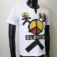 MJ Fashion Brazil Retro Antiwar Michael Jackson OLODUM Cotton 100 Tee T Shirt They Don T