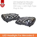 For Mercedes Benz E Class W212 LED Headlight Assembly Plug And Play Easy To Install Sell In Set R + L Sides