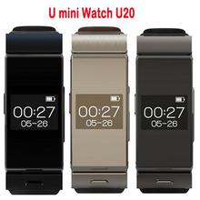 Uwatch u mini bluetooth smart watch bt4.0 kopfhörer schlaf-monitor lederriemen smartwatch für ios android handy