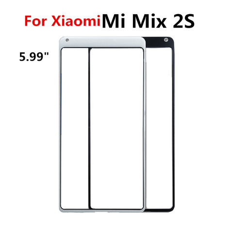 For XiaoMi Mi Mix Mix 2 3 Mix 2S Touch Screen Front Outer Screen touch Panel Glass Parts Repair Replacement for xiaomi mix 2 2s Islamabad