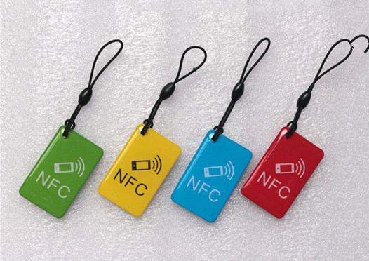 4 Pcs/lot Random Color  N-T-A-G 216 Universal 888 Bytes NFC Tags! Cheaper Than Sticker! For Business Card*Free Shipping