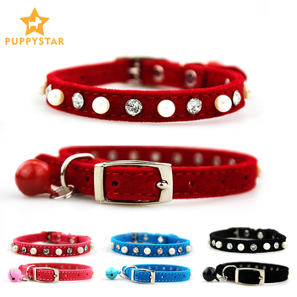 Pet Products Cat Collar With Bell Dog Collar For Cats Puppy Collars For Cats Kitten Dog-collar Pet Lead Dog Leashes Pet Supplies
