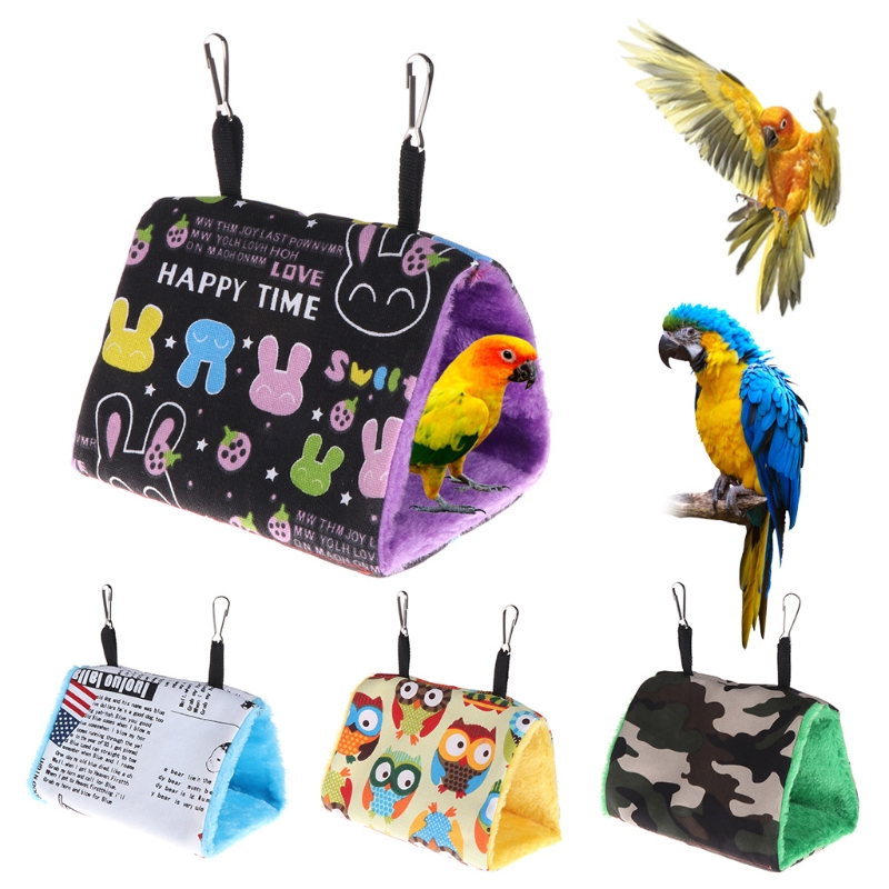Pet Products Parrot Hanging Bed Hanging Bed Hanging Bed Parrot Winter Cotton Nest Cotton Nest Warm Bird Hammock Tent Clearance Price Home & Garden