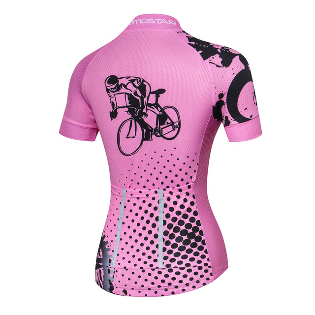 Cute Summer Breathable Women's Cycling Jersey