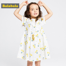 ce6a4b4c1 Vestido de verano de niñas de balabalaby 2019 vestido de princesa de algodón  de marca 100% para Niñas Ropa vestidos de unicornio.